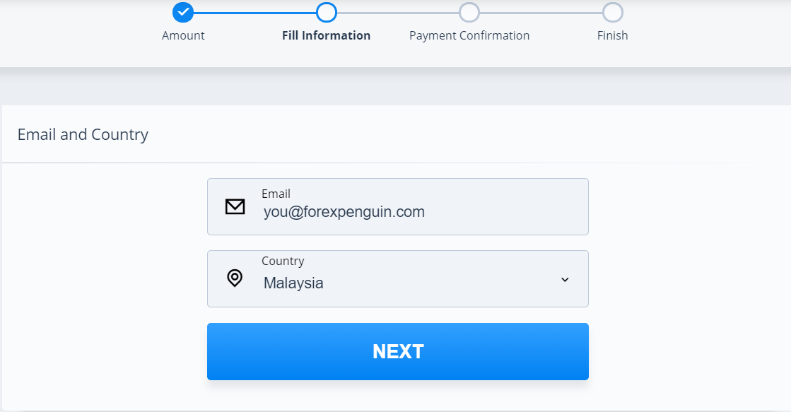 PrimeXBT Review Alternative Deposit Email and Country