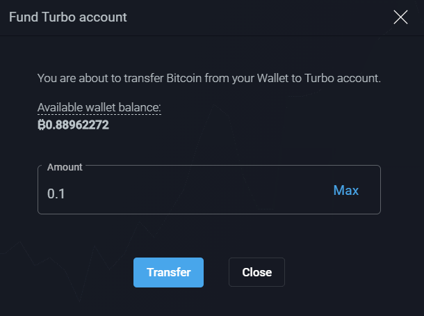 PrimeXBT Review Turbo Funding