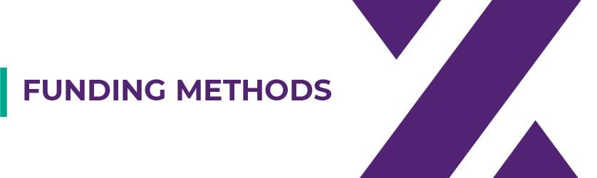 Funding Methods Axiory